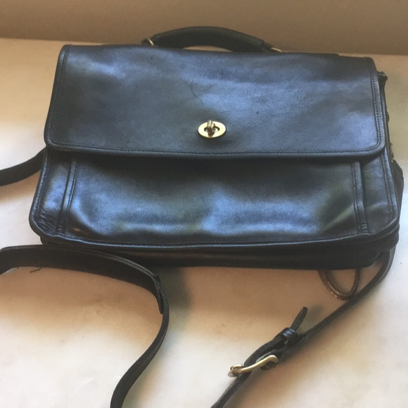 Coach Handbags - Coach vintage leather work bag